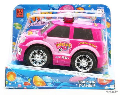 """Полицейская машина инерционная """"Friction Power. Police 911"""""""