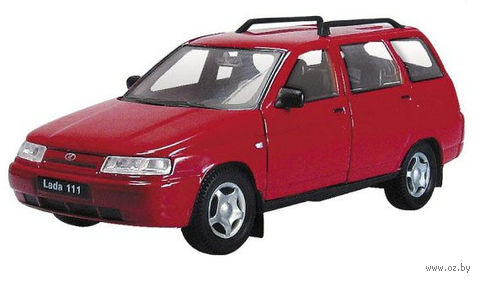 "Модель машины ""LADA"" (арт. 2601W-RUS; масштаб: 1/36)"