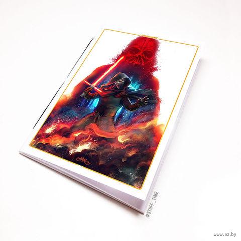 """Блокнот белый """"Звездные войны"""" А6 (930)"""