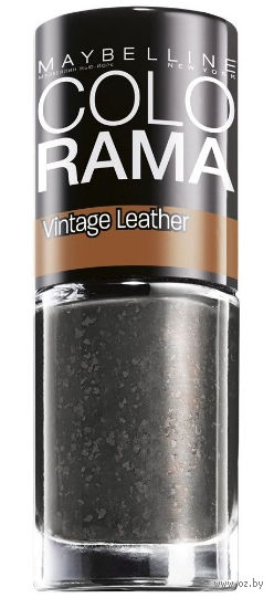 "Лак для ногтей ""Colorama, Vintage Leather"" (тон 212, серый; 7 мл)"