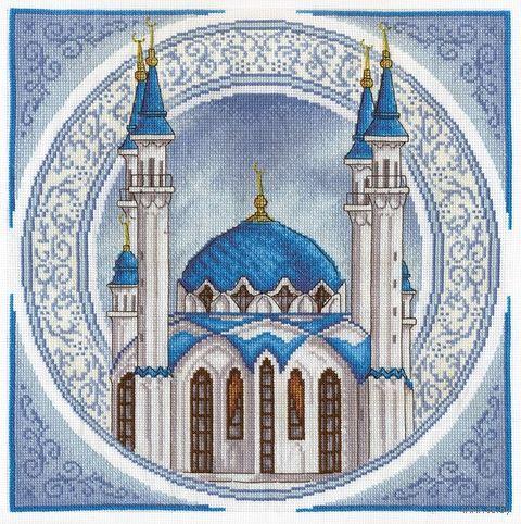 """Вышивка крестом """"Мечеть Кул Шариф"""" (325x325 мм) — фото, картинка"""