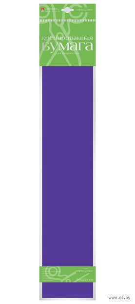 Бумага креповая (50х250 см; фиолетовая) — фото, картинка