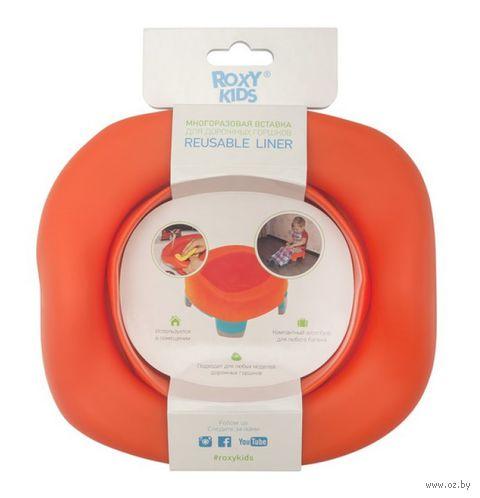 """Вкладка для горшков """"Handy Potty"""" (оранжевая) — фото, картинка"""