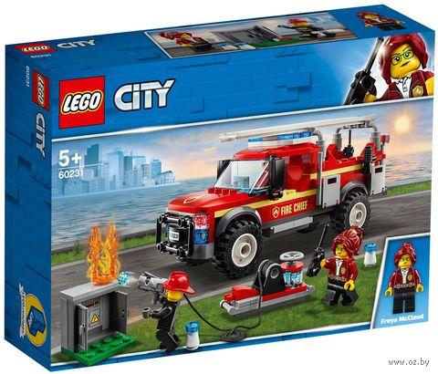 """LEGO City """"Грузовик начальника пожарной охраны"""" — фото, картинка"""