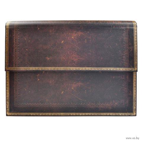 """Папка-портфель Paperblanks """"Черная марокканская кожа"""" (330*240 мм)"""