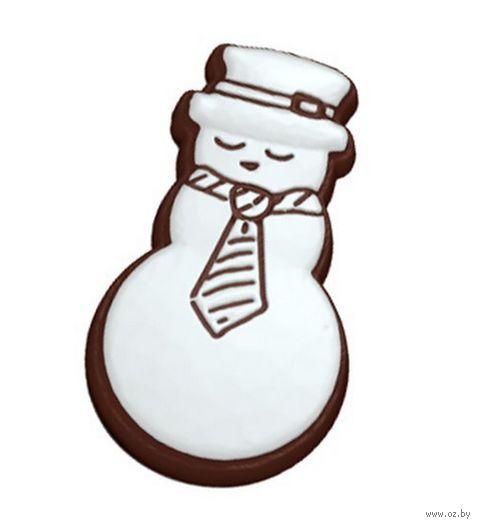 """Форма для изготовления мыла """"Пряник. Снеговик"""""""