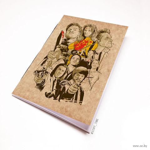 """Блокнот крафт """"Тарантино"""" (А7; арт. 443) — фото, картинка"""