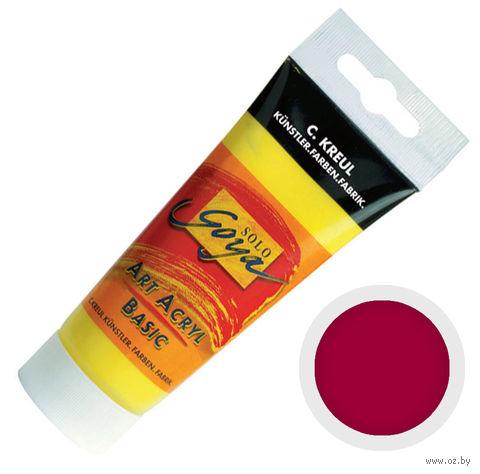 "Краска акриловая матовая ""Solo Goya Basic"" 10 (100 мл; красное вино)"