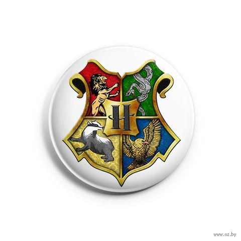 """Значок маленький """"Гарри Поттер. Хогвартс"""" (арт. 718) — фото, картинка"""