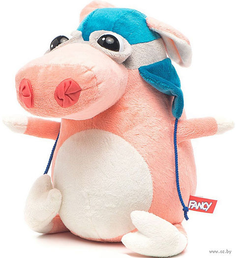 "Мягкая игрушка ""Свинка-пилот"" (24 см) — фото, картинка"