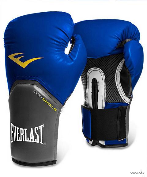 "Перчатки боксёрские ""Pro Style Elite"" (8 унций; синие; арт. 2208E) — фото, картинка"