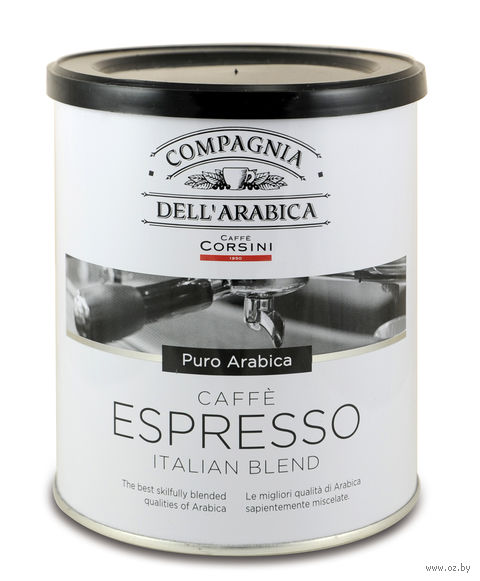 "Кофе молотый ""Compagnia Dell Arabica. Espresso"" (250 г; в банке) — фото, картинка"