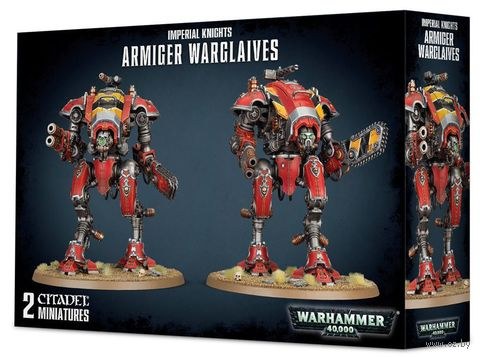 Warhammer 40.000. Imperial Knights. Armiger Warglaives (54-17) — фото, картинка