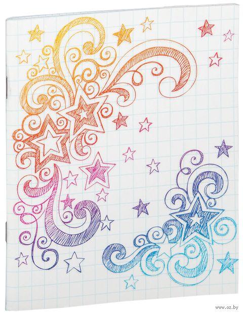 Тетрадь полуобщая в клетку (48 листов; арт. 001916)