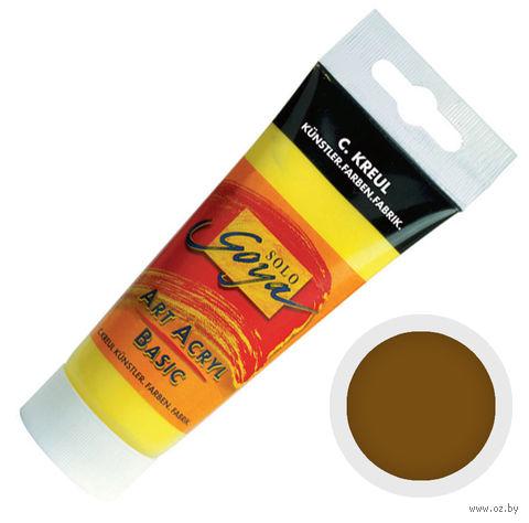 """Краска акриловая матовая """"Solo Goya Basic"""" 35 (100 мл; оксид темно-коричневый)"""