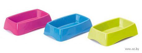 Миска пластиковая для грызунов (17х10х4 см)