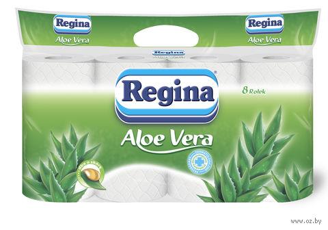 """Туалетная бумага """"Aloe vera"""" (8 рулонов) — фото, картинка"""