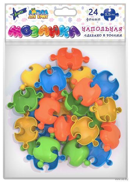 Мозаика напольная (55 мм; 24 деталей) — фото, картинка