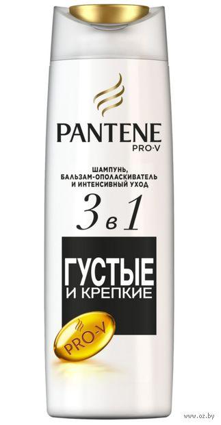 """Шампунь-бальзам для волос 2в1 """"Густые и крепкие"""" (360 мл) — фото, картинка"""