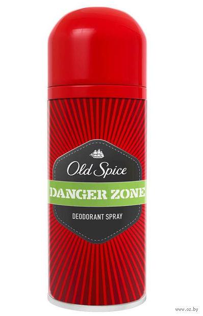 """Дезодорант для мужчин Old Spice """"Danger Zone"""" (спрей; 125 мл) — фото, картинка"""