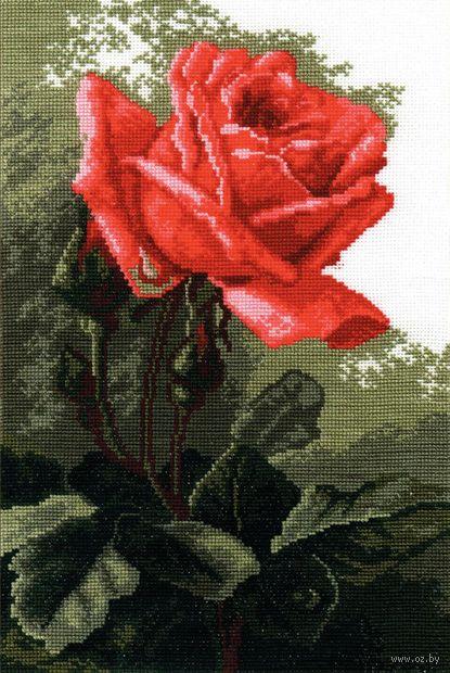 """Вышивка крестом """"Роза розовая"""""""