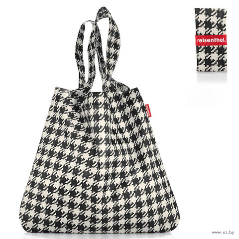 "Сумка складная ""Mini maxi shopper"" (fifties black)"