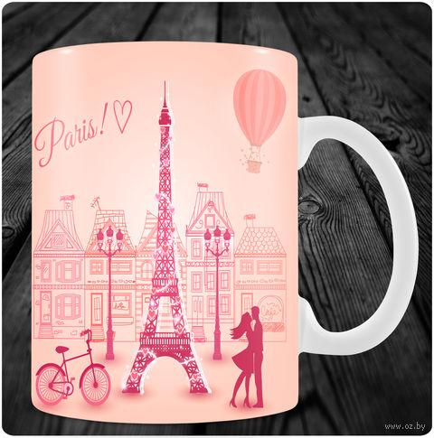 """Кружка """"Париж"""" (арт. 43) — фото, картинка"""
