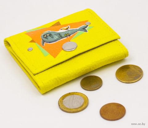 """Монетница прямоугольная """"Морж"""" — фото, картинка"""