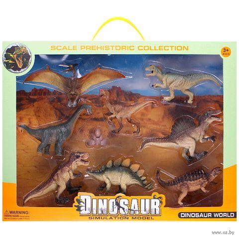 """Набор фигурок """"Динозавры"""" (9 шт.; арт. DV-T-971) — фото, картинка"""