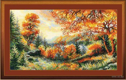 """Вышивка крестом """"Багряный лес"""" (арт. 1314)"""