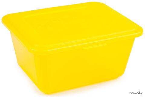 """Набор контейнеров """"Deco"""" (2 шт.; лимон) — фото, картинка"""