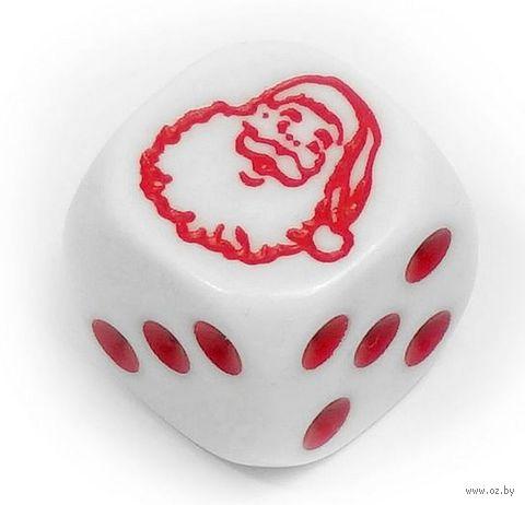 """Кубик D6 """"Санта Клаус"""" — фото, картинка"""