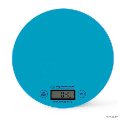 Кухонные весы Esperanza Mango EKS003 (голубые) — фото, картинка
