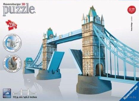 """3D Пазл """"Тауэрский мост"""" (216 элементов)"""