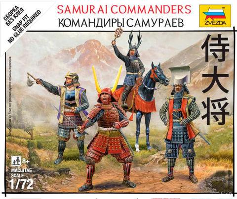 "Сборная модель ""Командиры самураев"" (масштаб: 1/72) — фото, картинка"