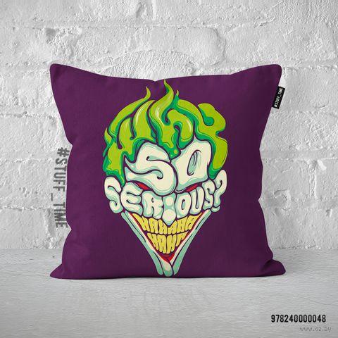 "Подушка ""Джокер"" (арт. 048) — фото, картинка"