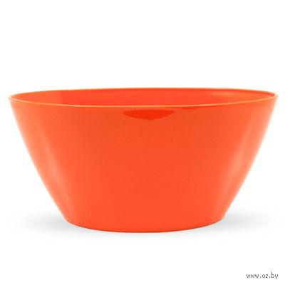 """Цветочный горшок """"Orchid Oval"""" (25 см; апельсиновый) — фото, картинка"""