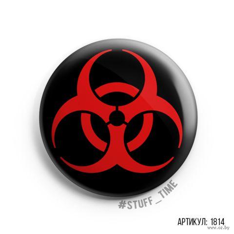 """Значок """"Biohazard"""" (арт. 1814) — фото, картинка"""