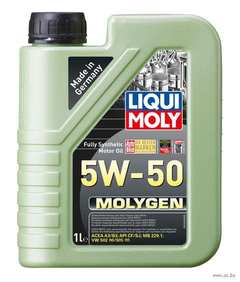 "Масло моторное ""Molygen"" 5W-50 (1 л) — фото, картинка"