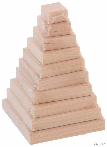 """Пирамидка """"Квадрат"""" (10 элементов) — фото, картинка"""