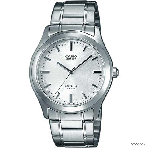 Часы наручные (серебристые; арт. MTP-1200A-7A) — фото, картинка
