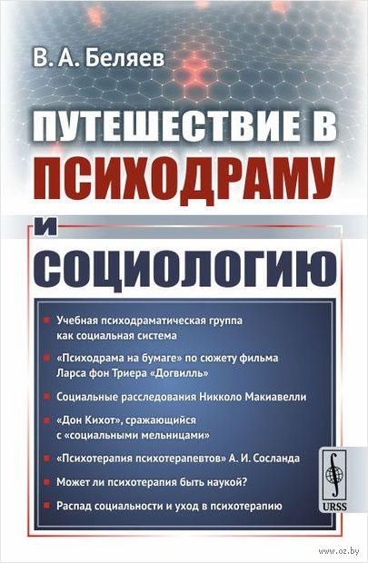 Путешествие в психодраму и социологию. Вадим  Беляев