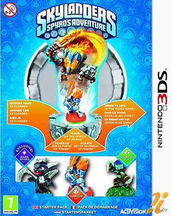 Skylanders. Стартовый набор: игровой портал, игра, фигурки: Dark Spyro, Ignitor, Stealth Elf (Nintendo 3DS)