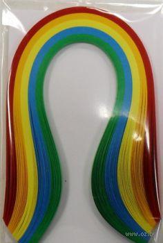 Бумага для квиллинга (300х3 мм; основные цвета; 100 шт)