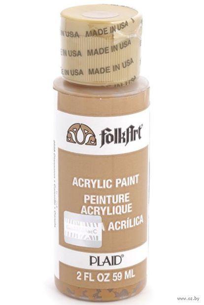 "Краска акриловая ""FolkArt. Acrylic Paint"" (корица, 59 мл; арт. PLD-02558)"