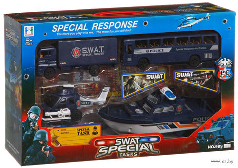 """Игровой набор """"Swat special"""" (арт. 999-053B) — фото, картинка"""