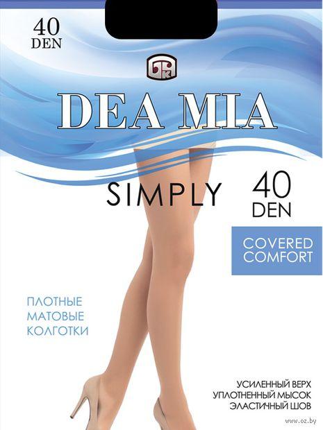 "Колготки женские классические ""Dea Mia. Simply 40"" — фото, картинка"