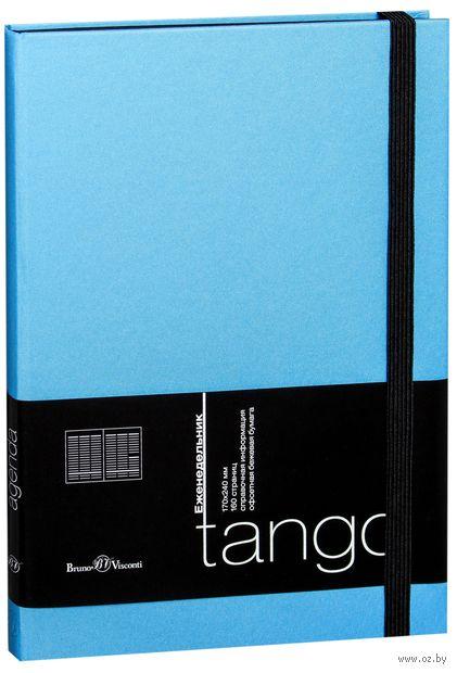 """Еженедельник недатированный """"Tango"""" (B5; голубой)"""