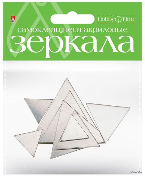 "Набор декоративных зеркал ""Треугольники"" — фото, картинка"