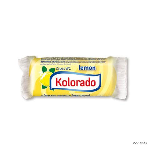 """Сменный блок для унитаза """"Kolorado WC. Лимон"""" (40 г) — фото, картинка"""